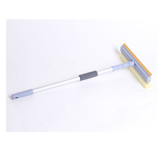 Швабра для мытья окон Eco Fabric губка 25см, алюминиевая телескоп. ручка 60-98см (EF-2515)