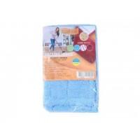 Насадка для швабры Eco Fabric из микрофибры 42 см, пачка 10шт (EF1902Mix)