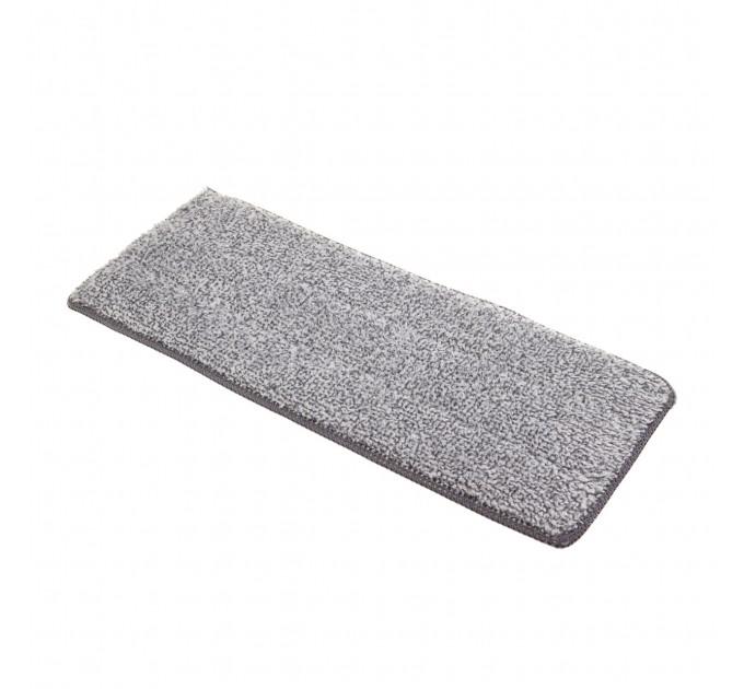 Насадка для швабры Eco Fabric LUX из микрофибры, серая (EF-0055-LX) - фото № 1