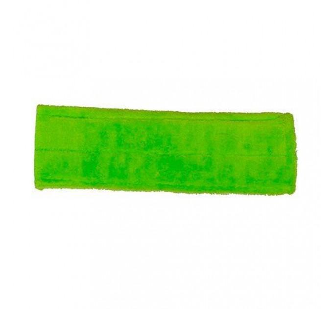 Насадка для швабры Eco Fabric из микрофибры, зеленый (EF-0050-PG) - фото № 1