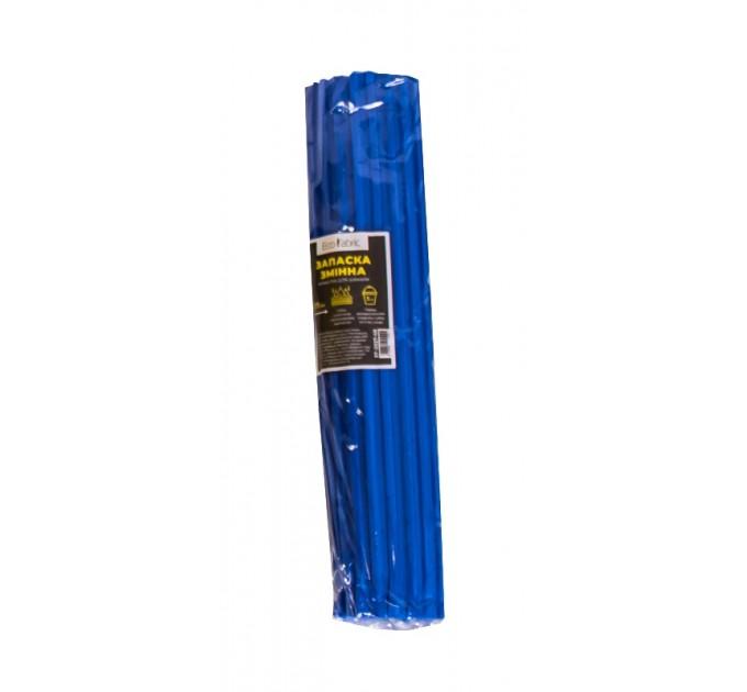 Сменная насадка губка для швабры Eco Fabric твердая, 27см, синяя (EF-1027-HB)