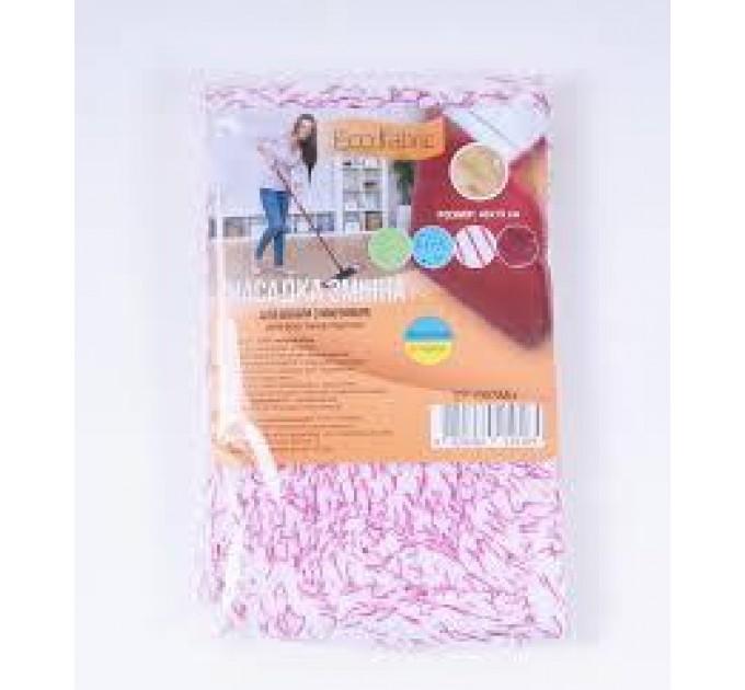 Насадка для швабры Eco Fabric PREMIUM из микрофибры 42 см (EF1903Mix) - фото № 1