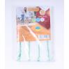 Насадка для швабры Eco Fabric из микрофибры 42 см, стандарт (EF1906Mix)