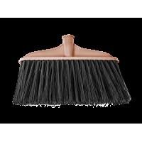 Метла Eco Fabric без ручки, 27см, пластиковая, коричневая (EF-0100)