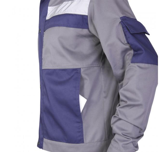 """Куртка рабочая Mover """"Boss"""" со светоотражающими полосами, серый (MV-121G) - фото № 6"""