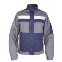 """Куртка рабочая Mover """"Boss"""" со светоотражающими полосами, серый (MV-121G)"""