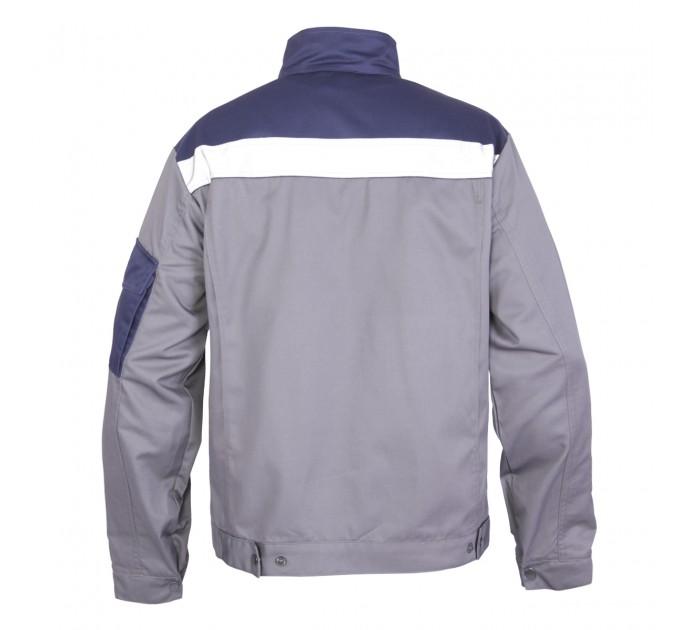 """Куртка рабочая Mover """"Boss"""" со светоотражающими полосами, серый (MV-121G) - фото № 2"""