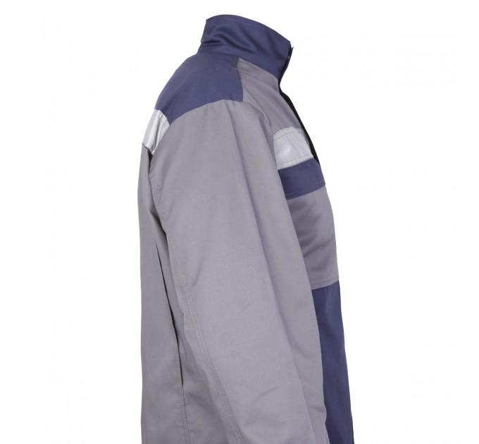 """Куртка рабочая Mover """"Boss"""" со светоотражающими полосами, серый (MV-121G) - фото № 4"""