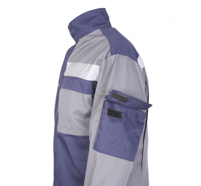 """Куртка рабочая Mover """"Boss"""" со светоотражающими полосами, серый (MV-121G) - фото № 3"""