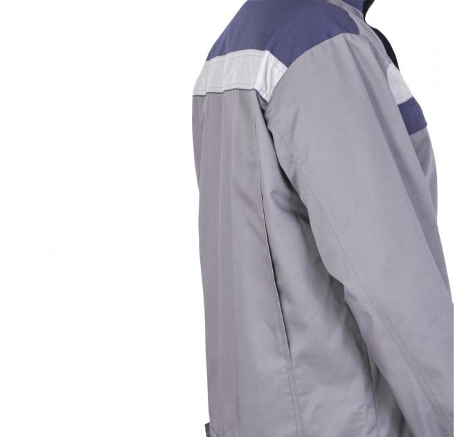 """Куртка рабочая Mover """"Boss"""" со светоотражающими полосами, серый (MV-121G) - фото № 5"""