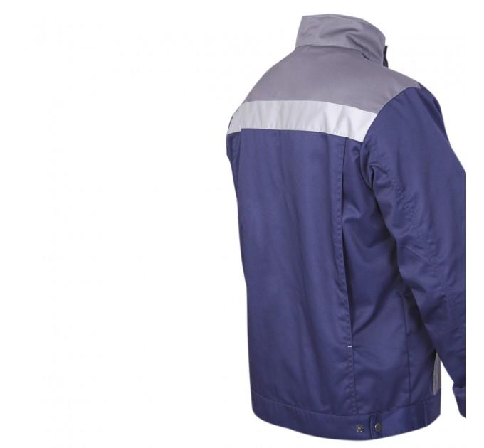 "Куртка рабочая Mover ""Boss"" со светоотражающими полосами, синий (MV-145B) - фото № 3"