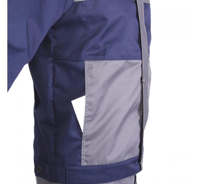 "Куртка рабочая Mover ""Boss"" со светоотражающими полосами, синий (MV-145B) - фото № 7"