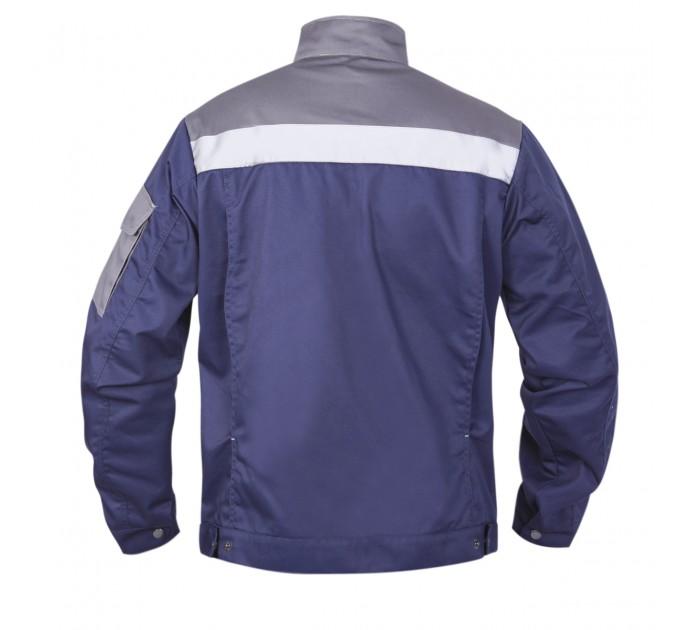 "Куртка рабочая Mover ""Boss"" со светоотражающими полосами, синий (MV-145B) - фото № 2"