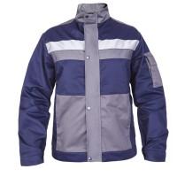 "Куртка рабочая Mover ""Boss"" со светоотражающими полосами, синий (MV-145B)"