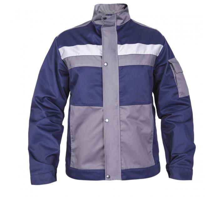 "Куртка рабочая Mover ""Boss"" со светоотражающими полосами, синий (MV-145B) - фото № 1"