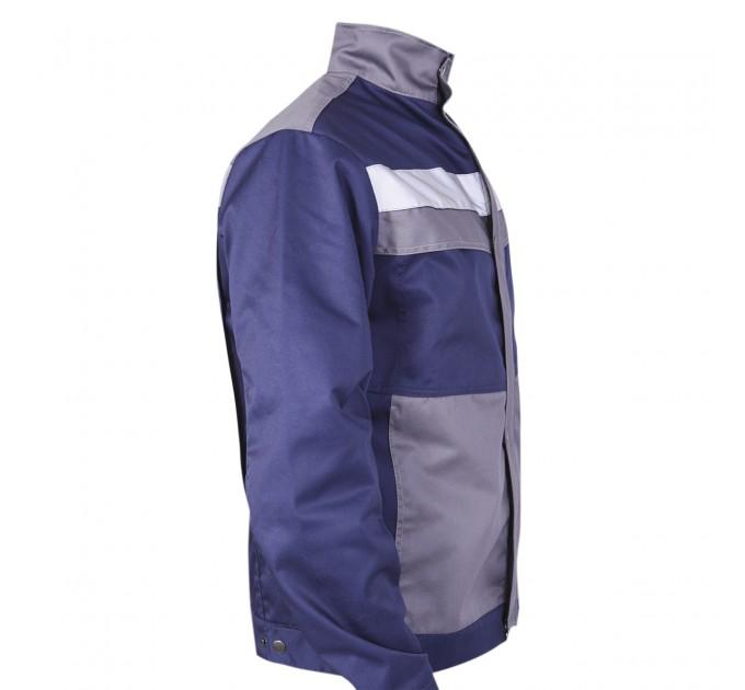 "Куртка рабочая Mover ""Boss"" со светоотражающими полосами, синий (MV-145B) - фото № 5"
