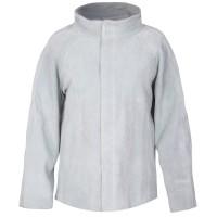 Куртка сварщика Mover, спилок, серый (KS-100)