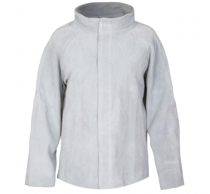 Куртка сварщика Mover, спилок, серый (KS-100) - фото № 1