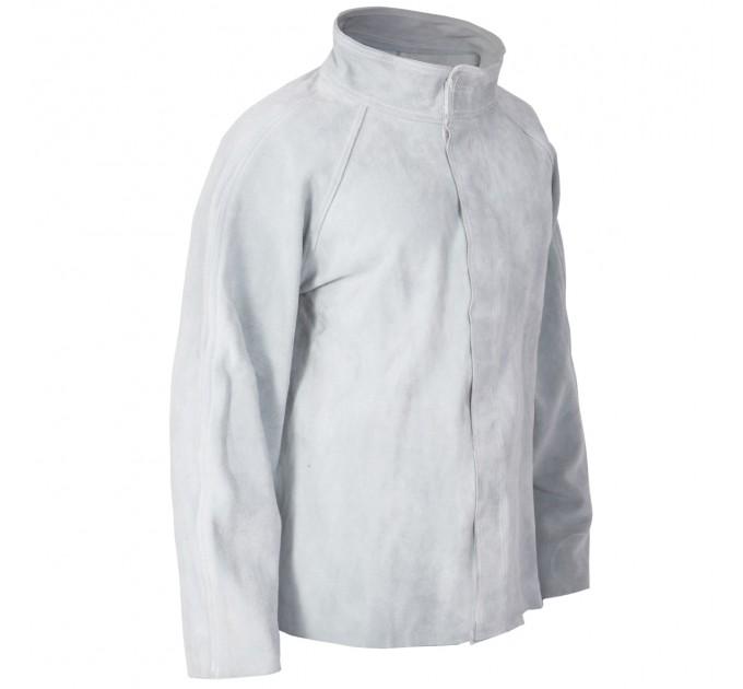 Куртка сварщика Mover, спилок, серый (KS-100) - фото № 3