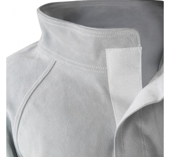 Куртка сварщика Mover, спилок, серый (KS-100) - фото № 4