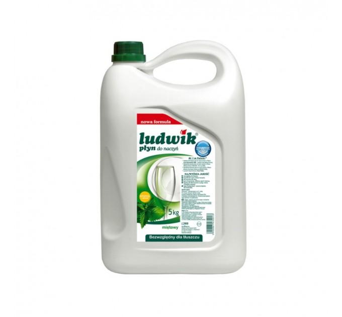 Средство для мытья посуды Ludwik МЯТА 5 кг (430013)