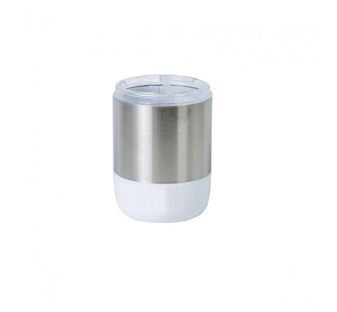Стакан для зубных щеток Prima Nova LIMA XL, белый (SA08-01)