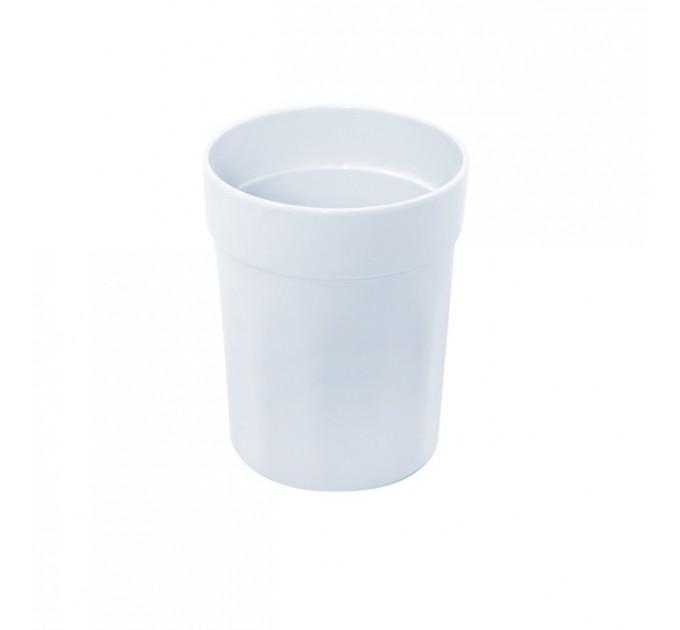 Стакан для ванной Eco Fabric MOON, белый (TRL-8012-SW)