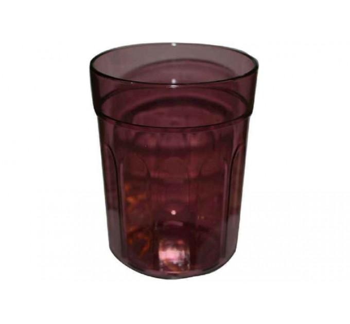 Стакан для ванной Eco Fabric MOON, прозрачно-бордовый (TRL-8012-SW) - фото № 1