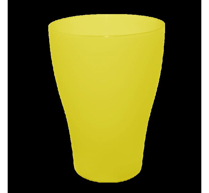 Набор стаканов Алеана 0.25 л 6 шт, желтый прозрачный (167206) - фото № 1
