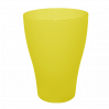 Набор стаканов Алеана 0.25 л 6 шт, желтый прозрачный (167206)