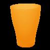 Стакан Алеана 0.25 л, оранжевый прозрачный (167096)