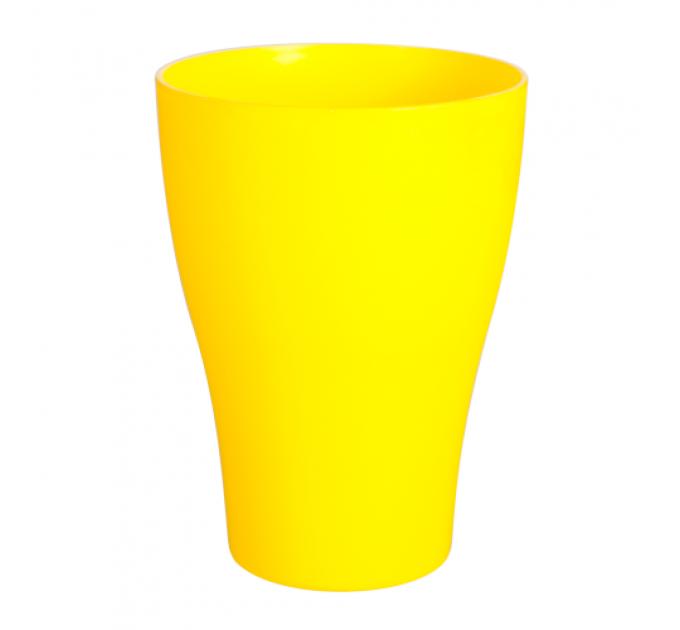 Стакан Алеана 0.25 л, темно-желтый (167096) - фото № 1
