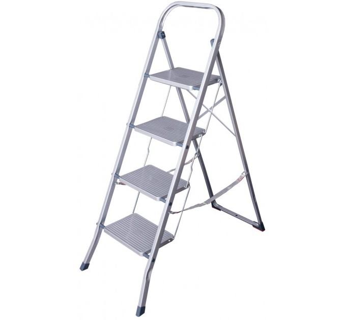 Лестница-стремянка Eurogold металлическая 4 ступ. (2104-C) - фото № 3
