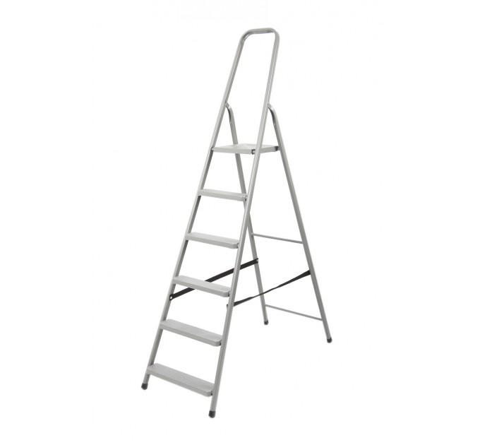 Лестница-стремянка Aloft стальная, 6 ступ. (DR-ST-D6)