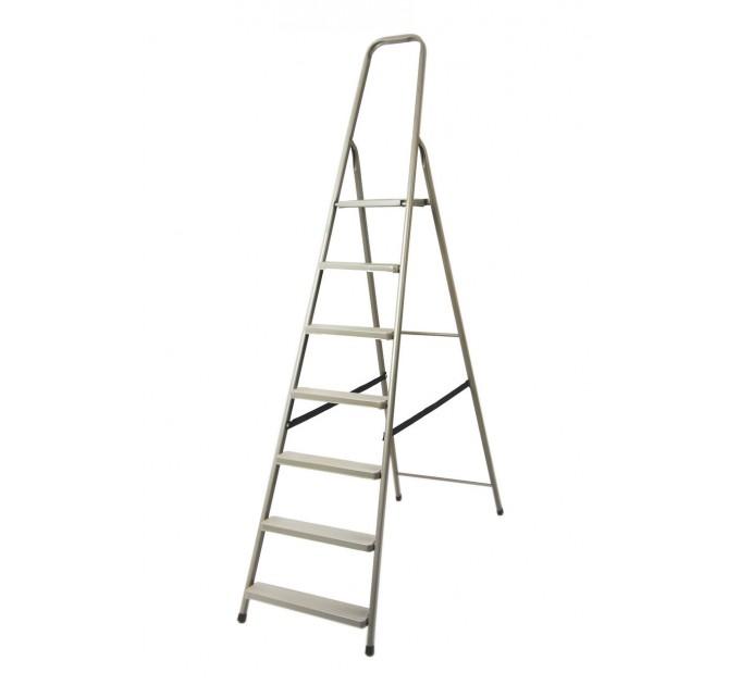 Лестница-стремянка Aloft стальная, 7 ступ. (DR-ST-D7)