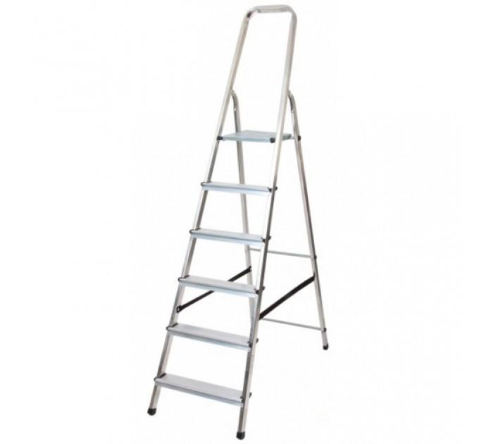 Лестница-стремянка Aloft алюминиевая, 6 ступ., DRALD-6 (10106A)