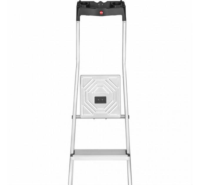 Лестница-стремянка Hailo L60 StandardLine алюминиевая, 6 ступ. (8160607) - фото № 2