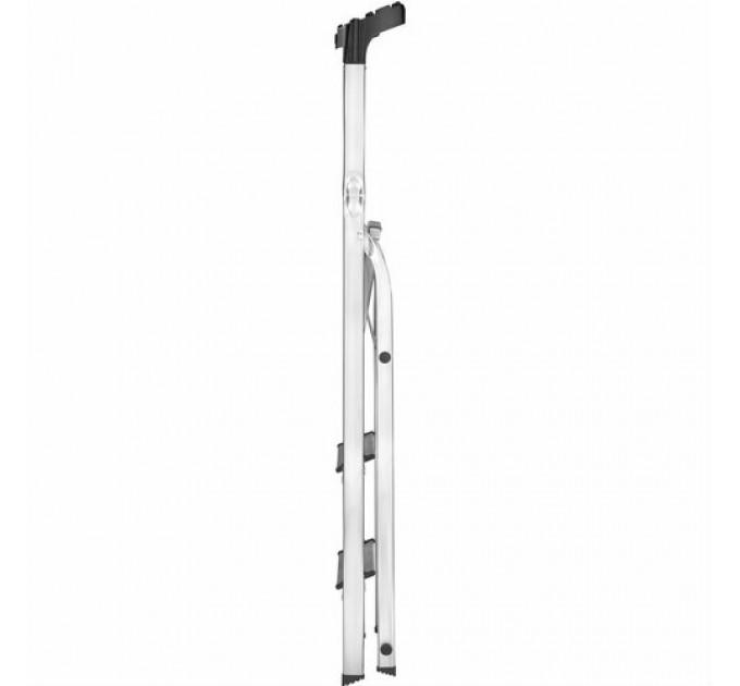 Лестница-стремянка Hailo L60 StandardLine алюминиевая, 6 ступ. (8160607) - фото № 3
