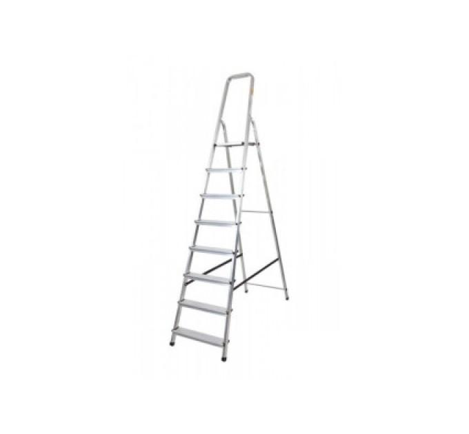 Лестница-стремянка Aloft алюминиевая, 8 ступ., DRALD-8 (10108A)