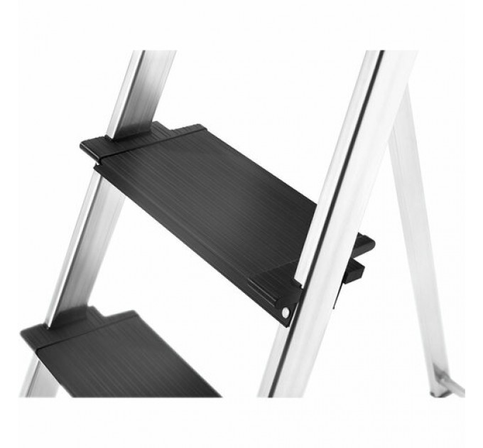 Лестница-стремянка Hailo L100 TopLine алюминиевая, 3 ступ. (8050307) - фото № 6