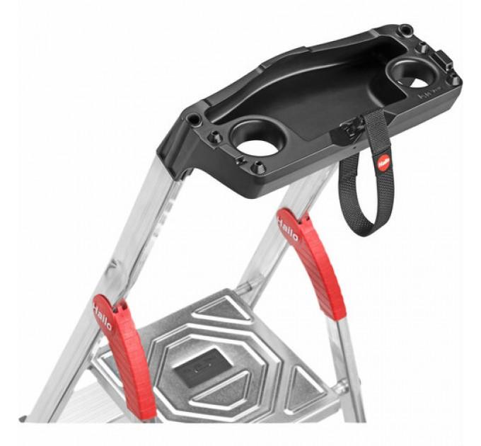 Лестница-стремянка Hailo L80 ComfortLine алюминиевая, 4 ступ. (8040407)