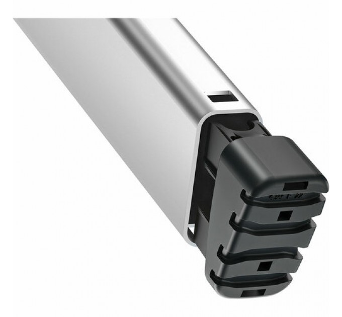Лестница-стремянка Hailo L80 ComfortLine алюминиевая, 5 ступ. (8040507)