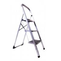 Лестница-стремянка Aloft металлическая 3 ступ. с резиновым покрытием (SLS-03)