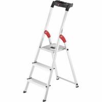 Лестница-стремянка Hailo L60 StandardLine алюминиевая, 3 ступ. (8160307)