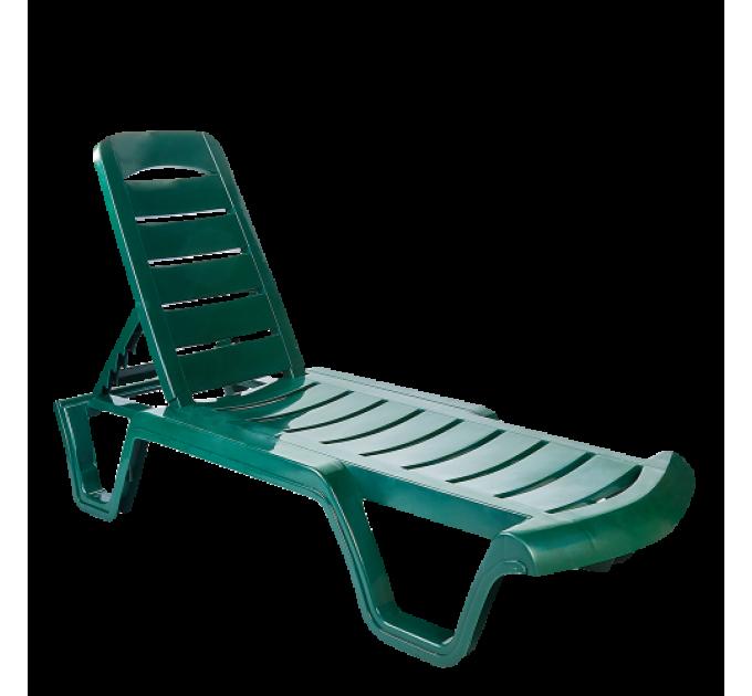 Шезлонг Алеана Бриз, зеленый (101070) - фото № 1