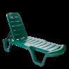 Шезлонг Алеана Бриз, зеленый (101070)