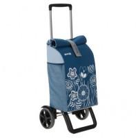 Сумка хозяйственная на колесах Gimi 50л ROLLING THERMO, голубой (GM19270)