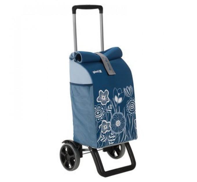 Сумка хозяйственная на колесах Gimi 50л ROLLING THERMO, голубой (GM19270) - фото № 1