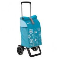 Сумка хозяйственная на колесах Gimi 50л ROLLING THERMO, небесно-голубой (GM19294)