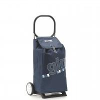 Сумка хозяйственная на колесах Gimi 52л ITALO, голубой (GM15241)
